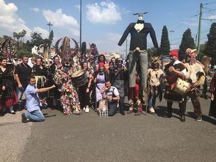 Jarramplas y el Carnaval Hurdano estuvieron presentes en el Festival Internacional de la Máscara Ibérica