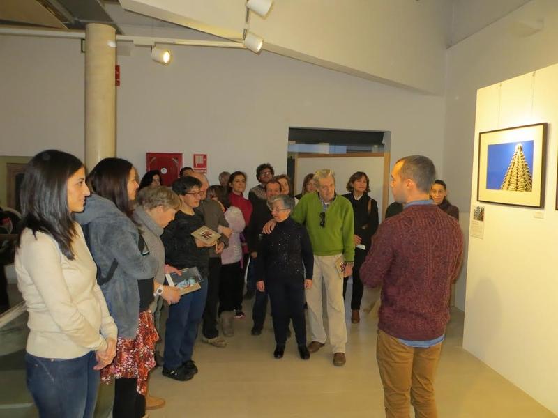 Los centros de discapacidad de la ciudad de Plasencia realizan una visita guiada al proyecto miradas de mensajeros de la paz Extremaadura