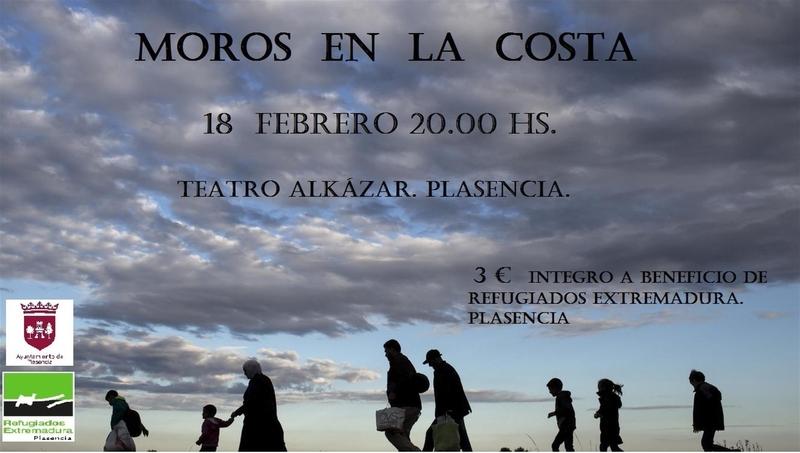 La representación de una obra este sábado en Plasencia recauda fondos para ayudar en el rescate de refugiados en Grecia