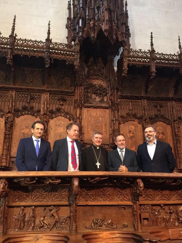 Inaugurada la restauración de la Sillería del Coro de la Catedral de Plasencia tras 16 meses y 363.000 euros invertidos