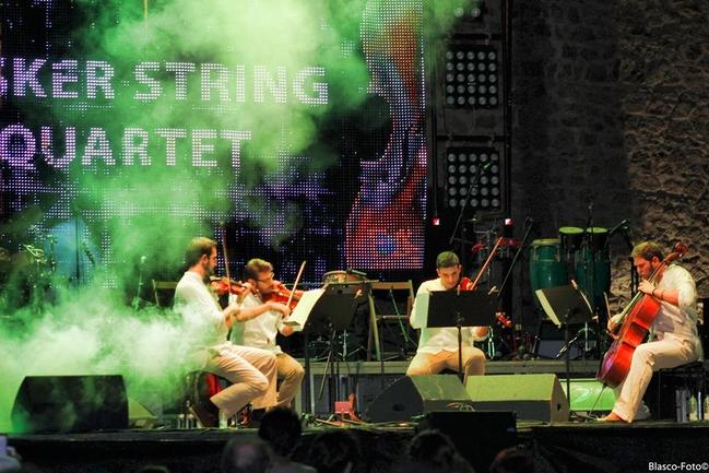 El grupo extremeño 'Busker String Quartet' abre este jueves la
