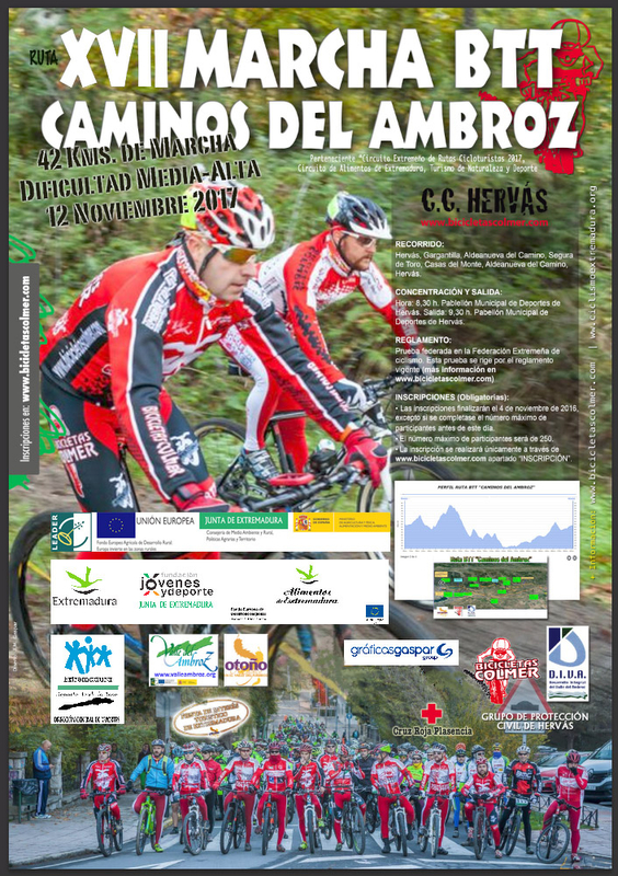 XVII Marcha BTT Caminos del Ambroz