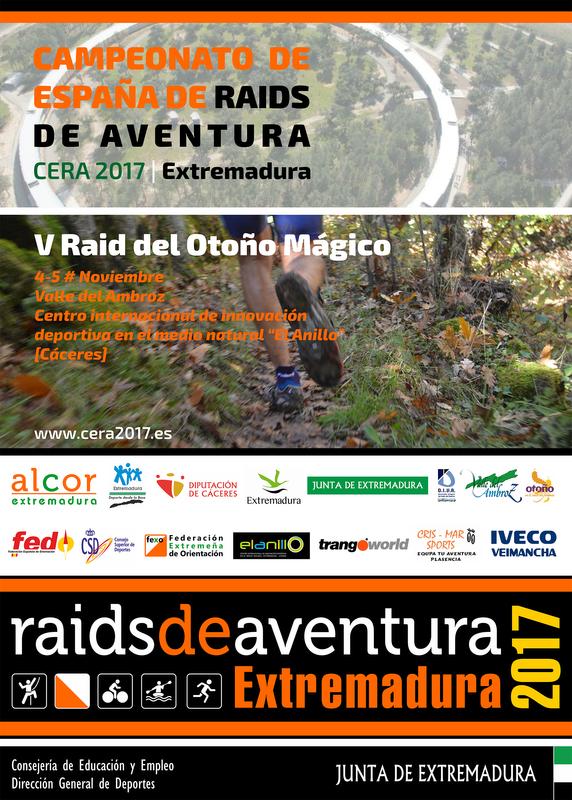 Campeonato de España de Raid de Aventura en el Otoño Mágico del Valle del Ambroz