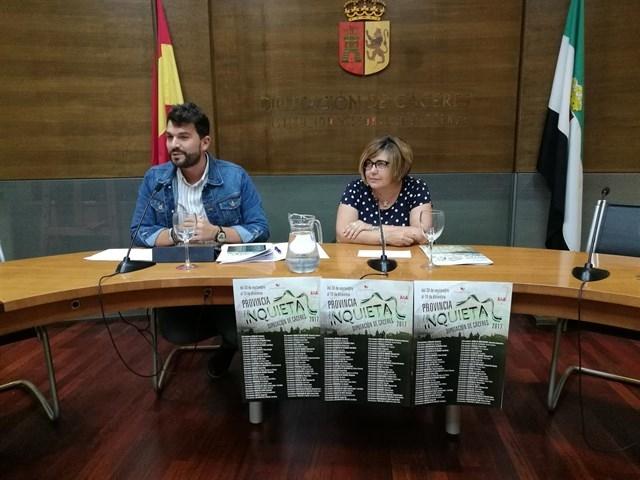 El programa cultural 'Provincia inquieta' lleva a 56 pueblos de Cáceres música, teatro, circo y magia