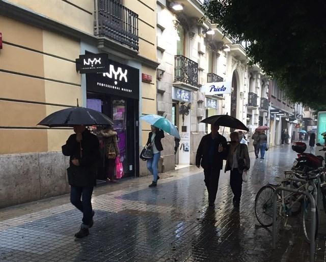 Nivel amarillo de alerta por lluvias en en el norte de Cáceres