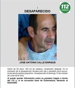 Guardia Civil, Cruz Roja y vecinos de Losar de la Vera participan en la búsqueda de un hombre desaparecido
