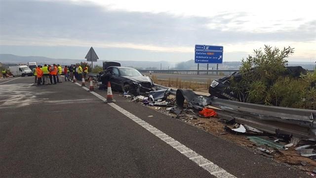 El fallecido en el accidente de la EX-A1 es un hombre de nacionalidad portuguesa