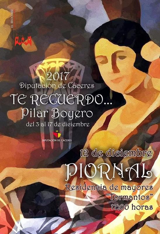 La cantante Pilar Boyero lleva la copla a varias localidades de la mano de la Diputación