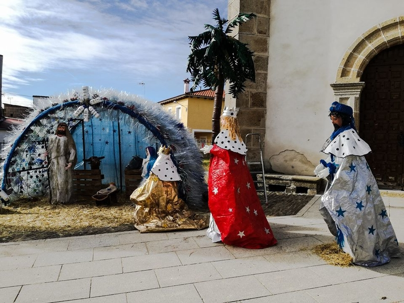 El primer premio del Concurso Navidad en las Calles para Santibañez el Bajo