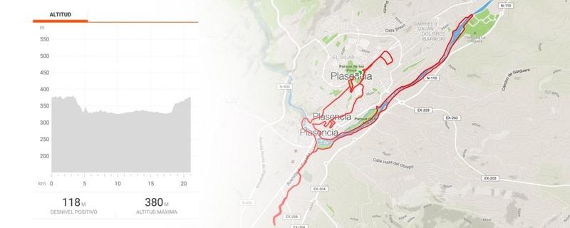 Plasencia ya está preparada para la media maratón del domingo