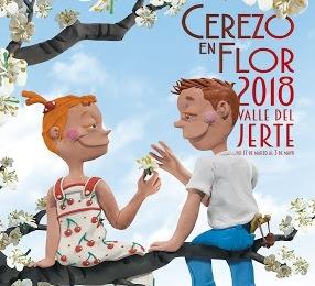 Cristóbal Aguiló creador del cartel oficial Primavera y Cerezo en Flor 2018