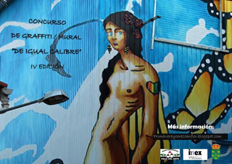 Cabrero lucirá la obra ganadora del IV Concurso de Graffiti / Mural