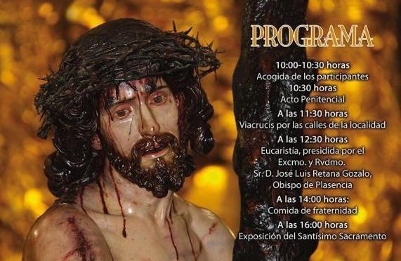 El 17 de marzo habrá una peregrinación al santuario del Cristo de la Victoria de Serradilla