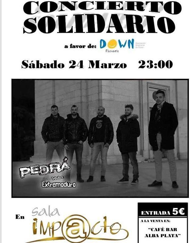 El grupo placentino de rock Pedrá `Tributo a Extremoduro´ dará un concierto solidario en Plasencia
