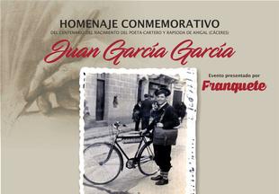 Ahigal rinde homenaje a Juan García García, el poeta-cartero