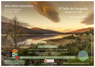El Ayuntamiento de El Torno organiza el II taller de fotografía 'Mirador del Valle'