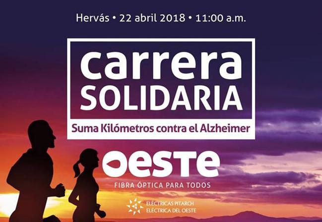 El 28 de abril se celebrará en Hervás una carrera solidaria a favor de los enfermos de Alzheimer
