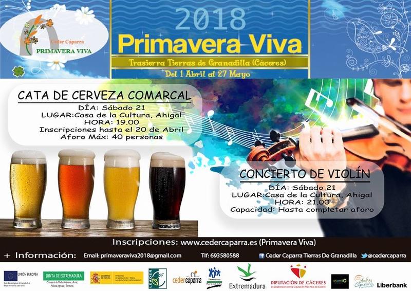 La programación de la Primavera Viva llega el fin de semana a Palomero, Ahigal y Cerezo