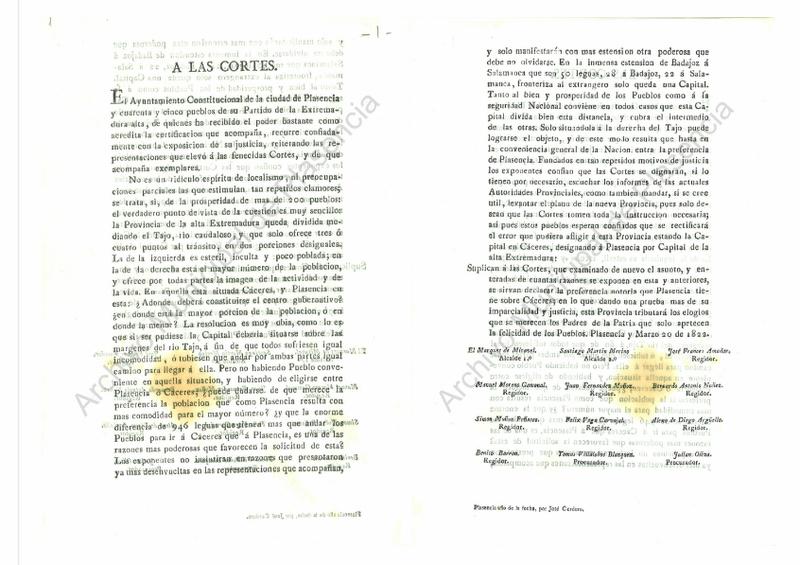 Ya se puede visitar un nuevo documento en el Archivo Municipal de Plasencia
