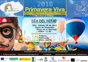 La Primavera Viva celebra el Día del Niño