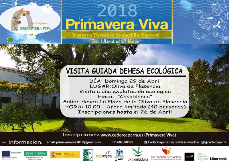La Primavera Viva se adentra el próximo domingo en la dehesa extremeña