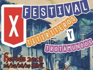 Hervás celebra su X Festival de Titiriteros y Trotamundos