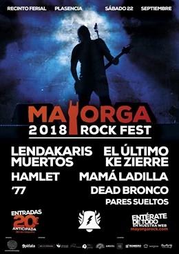 Lendakaris Muertos, Hamlet y Mamá Ladilla estarán en el cartel del 'Mayorga RockFest' de Plasencia