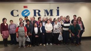 Placeat entrega al CERMI un tapiz solidario confeccionado por personas con discapacidad intelectual
