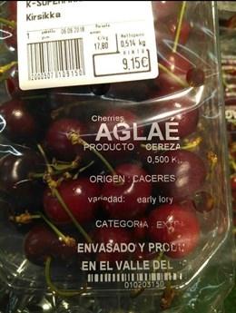 El consumidor paga 18 veces más caro el precio de la cereza de lo que se abona al productor, según UPA-UCE