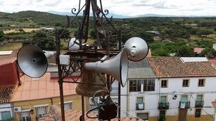 El Ayuntamiento de Palomero ha instalado un nuevo sistema de megafonía