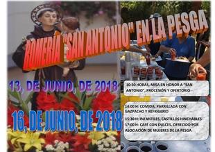 La tradicional romería de San Antonio en La Pesga se celebra este sábado