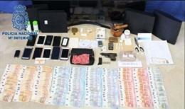 Seis detenidos, uno de ellos menor, en la desarticulación de un grupo dedicado a venta de drogas en Plasencia