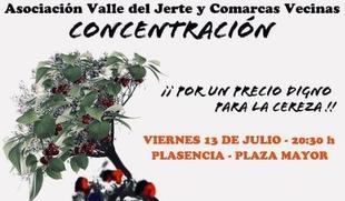 Los agricultures del norte de Cáceres preparan movilizaciones para protestar por los bajos precios de la cereza