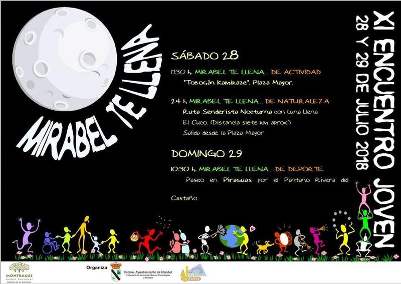 La XI Edición de Mirabel Te Llena será los días 28 y 29 de julio