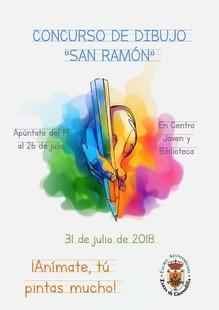 El Ayuntamiento de Zarza de Granadilla organiza un concurso de dibujo en honor a San Ramón