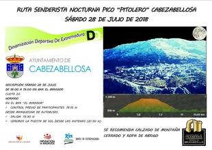 El 28 de julio se celebrará en Cabezabellosa la