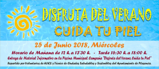 El próximo miércoles 25 de julio tendrá lugar una campaña sobre prevención solar en la piscina municipal de Plasencia