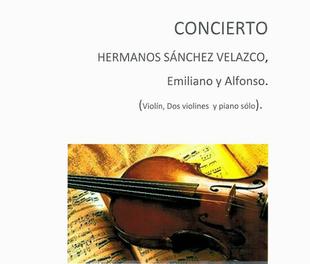 La Casa de Cultura de El torno acoge mañana sábado un concierto de violín y piano