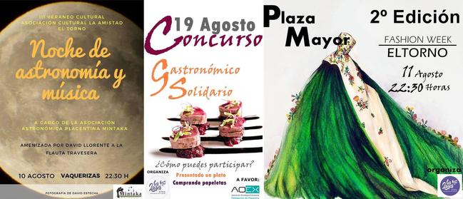 El Ayuntamiento de El Torno continúa con las actividades de el III Veraneo Cultural