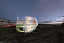 El Palacio de Congresos de Plasencia atrae a productoras para rodajes y fotografías por su