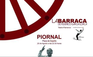 La compañía de arte flamenco Jesús Custodio presenta esta noche en Piornal 'La Barraca' de Federico García Lorca