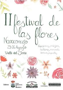 Navaconcejo celebra su II Festival de las Flores