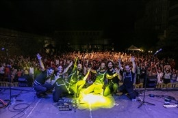 De la Carmela y los italianos Kalàscima inauguran los conciertos del Festival Folk de Plasencia