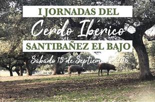 Santibáñez el Bajo celebrará el 15 de septiembre la 'I Jornada del Cerdo Ibérico'