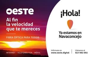 La fibra óptica llega a Navaconcejo