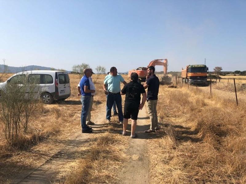La Junta de Extremadura mejora casi 32 kilómetros de caminos en la zona de concentración parcelaria de Oliva de Plasencia