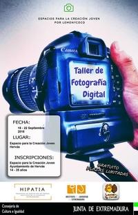 El Espacio de Creación Joven de Hervás oferta un taller de fotografía digital