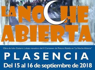 La 'Noche Abierta' de Plasencia oferta 30 actividades culturales del 15 al 16 de septiembre