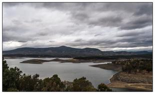Las lluvias de la pasada semana hacen crecer las reservas del embalse de Gabriel y Galán de Guijo de Granadilla un 9%
