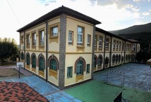 Concluidas las obras de rehabilitación en el colegio de Baños de Montemayor
